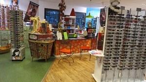 Notre magasin aussi coloré que nos montures!