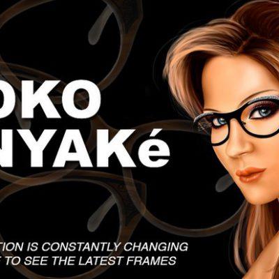 IYOKO INYAKE collection de lunettes exceptionnelle pour les amoureux de montures originales