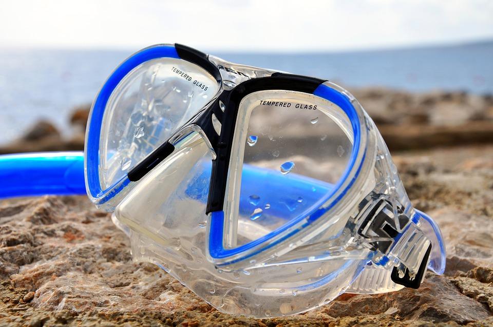accessoires - masque de plongée à votre vue